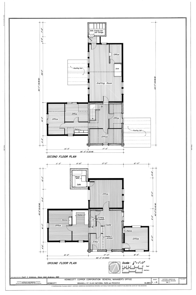 File second floor plan ground floor plan general manager for Alaska floor plans