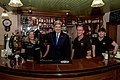 Secretary Kerry Holds Up a Pint of Guinness That He Drew at PaMcGrath's Pub in Limerick (30035546753).jpg