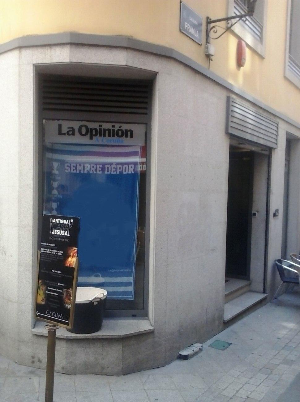 Sede La Opinion A Coruña