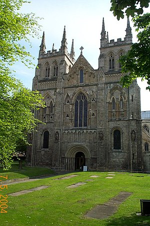 Selby Abbey - The West Front