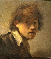 Self-portrait Rembrandt 1629, Alte Pinakothek.jpg