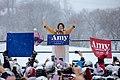 Senator Amy Klobuchar made her announcement to run for president in 2020 on a snowy Sunday at Boom Island Park in Minneapolis, Minnesota. (32113044637).jpg