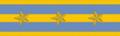 Senior Lieutenant rank insignia (Mengjiang).png