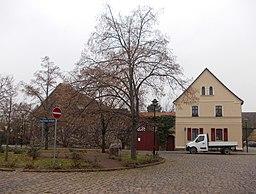 Dorfplatz in Petersberg