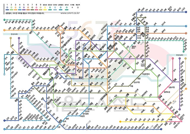 Eoul Subway Map.File Seoul Subway Map Korean 4258302849 Jpg Wikimedia Commons