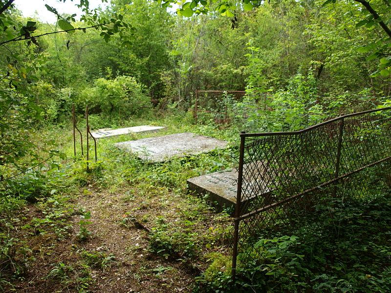 Serbonnes (Yonne, France); sépulture forestière de Michel Corday et d'une partie de sa famille.