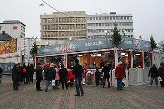 Musikhjälpen - Musikhjälpen-house in Malmö 2008.