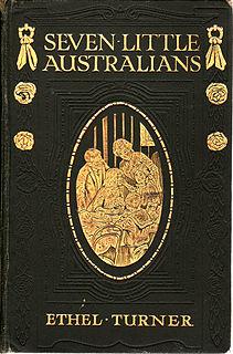 <i>Seven Little Australians</i> book by Ethel Turner