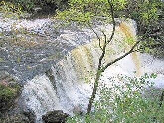 Waterfall Country (Wales) - Sgwd Clun-gwyn (Sgwd Uchaf Clun-gwyn)