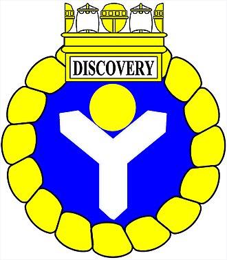 HMCS Discovery - Image: Shakefork HMCS Discovery wiki