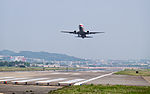 Shanghai Airlines Boeing 737-86D B-5460 Taking off from Taipei Songshan Airport 20150314a.jpg