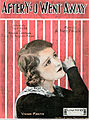Sheet music cover - AFTER YOU WENT AWAY (1919).jpg