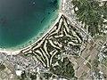 Shimonoseki Golf Club, Shimonoseki Yamaguchi Aerial photograph.2010.jpg