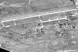 Shindand airfield, Afghanistan, before US-led strikes -- 2001-10-10.jpg