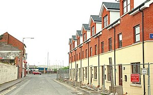 Sailortown, Belfast - Short Street looking towards Princes Dock Street, 2009.