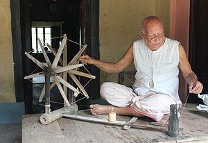 Nai Talim - Image: Shri Chitta Bhusan a hardcore Gandhian