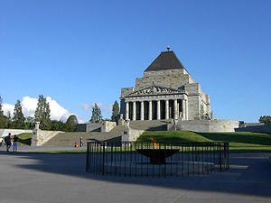 Kings Domain - Shrine of Remembrance