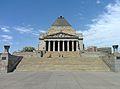 Shrine of Remembrance WWI memorial Melbourne Australia.jpg