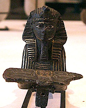 Siamun - Bronze Sphinx of Siamun, Louvre Museum.