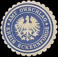 Siegelmarke Amt Owschlag Kreis Eckernförde W0334623.jpg