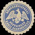 Siegelmarke Bürgermeisterei Püttlingen Kreis Saarbrücken W0382837.jpg