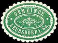 Siegelmarke Gemeinde Leubsdorf in Sachsen W0252428.jpg