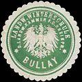Siegelmarke Landwirtschaftliche Winterschule Bullay W0383960.jpg