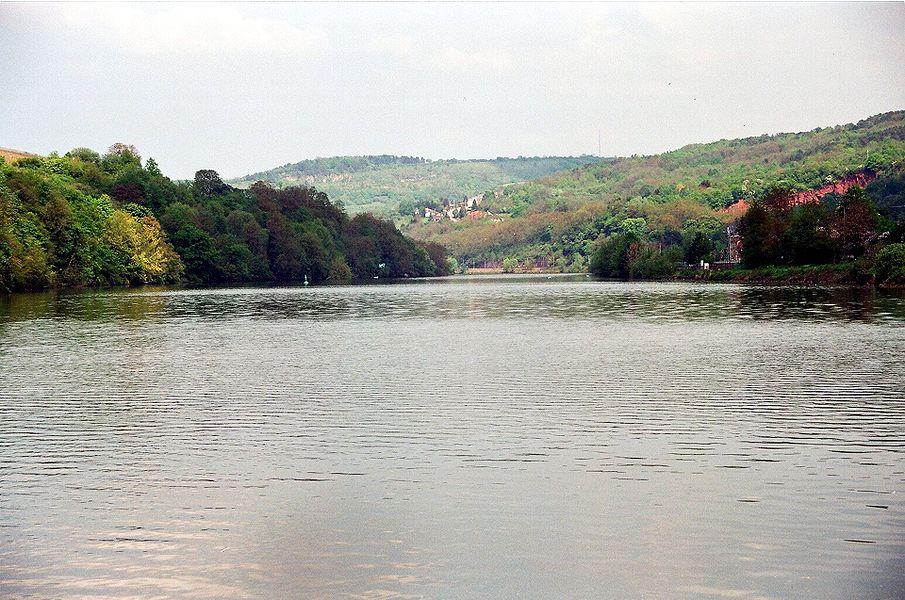 Sierck-les-Bains, the Moselle