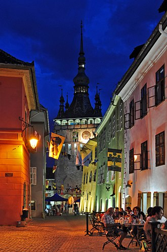 Historic Centre of Sighișoara - The clocktower