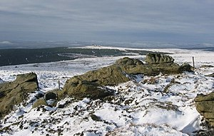 Sighty Crag - The summit of Sighty Crag