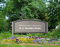 Sign at Hamby Park - Hillsboro, Oregon.JPG