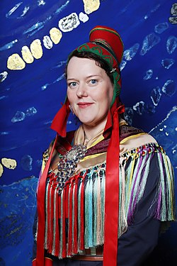 Silje Karine Muotka samisk politiker 2017.jpg