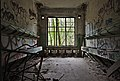 Sinks inside an abandoned military building in Fort de la Chartreuse, Liege, Belgium (DSCF3387-hdr).jpg