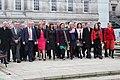 Sinn Féin MPs, MLAs & TDs gather ahead of the Dáil100 event (45922965305).jpg