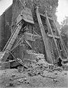 situatie aan de voet van de toren tijdens restauratie - bedum - 20028690 - rce