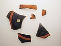 Six fragments of a terracotta kylix- band-cup (drinking cup) MET sf20116032back.jpg