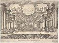 Sixth interlude- temple of peace (Intermedio sesto- tempio della pace), from the series 'Seven Interludes' for the wedding celebration of Cosimo de' Medici in Florence, 1608 MET DP832206.jpg