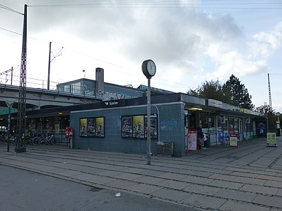How to get to Sjælør St. with public transit - About the place