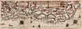Sjøkart over kysten av Norge fra Trondheim til Bergen, fra 1592.png