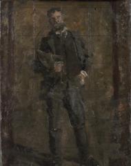 Sketch for Portrait of Leslie W. Miller