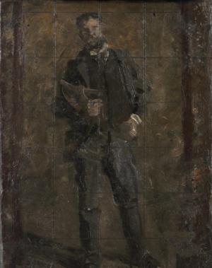 Portrait of Leslie W. Miller - G-349. Sketch for Portrait of Leslie W. Miller (1901), Philadelphia Museum of Art.