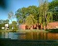 Skwer sąsiadujący z murami Cytadeli Warszawskiej (fota w kier. Wybrz. Gd.) - panoramio.jpg