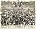 Slag bij Höchstädt,1704 Zegen by Hoogstad op de Fransen en Beyersen Door S.H. Marbourg en Pr. Eugenius van Savoyen verkreegen. 13. Aug. 1704 (titel op object), RP-P-1924-256.jpg