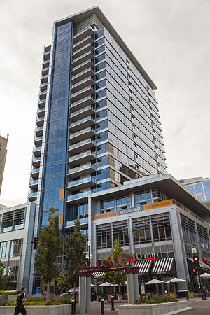 The Regent (City Creek) - The Regent as seen from 35 East 100 South street