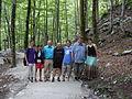 Slovenian Wikipedia Meetup Savica Waterfall Bohinj 1.JPG