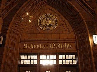 Saint Louis University School of Medicine - Saint Louis School of Medicine.