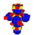 Small rhombated tesseract net.png