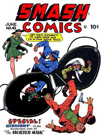 Midnight (DC Comics) - Image: Smash Comics Number 43