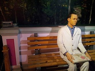 Forrest Gump - Snap from Wax Museum at Innovative Film city Bangalore