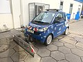 Snowplow vehicle (Smart, blue, Germany, 2020).JPG